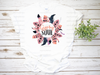Gypsy Soul Floral Wreath | Sublimation Transfer