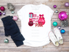 Deck The Halls with Lots of Pink | Sublimation Transfer