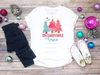 Pink O Christmas Tree   Sublimation Transfer