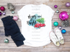 Red Christmas Bug Merry & Bright | Sublimation Transfer