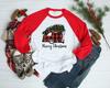 Merry Christmas Plaid Camper | Cotton Transfer