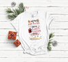 Bake Stuff Drink Hot Cocoa Watch Hallmark Movies | Cotton Transfer
