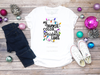 My Favorite Color is Christmas Lights | Cotton Transfer