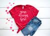 Style #7 Valentine Tee Bella Canvas 3001 Unisex Mock Up/Flat Lays DIGITAL FILES