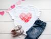 Love You Heart | Cotton Transfer