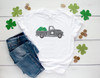 Shamrock St. Patrick's Day Truck | Sublimation Transfer