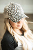 Distressed Leopard Hat