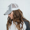 Patch Distressed Hat Gray