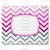 Chevron Pink Ombre Mouse Pad