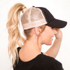 Luxe Messy Bun Hat | Solid Color