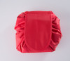 Makeup Drawstring Travel Pouch Red