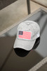 USA Flag Hat Gray
