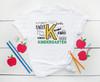 K Kindergarten   Sublimation Transfer