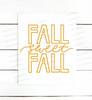 Fall Sweet Fall Digital Cutting File