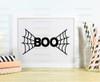 Boo Spider Web Digital Cutting File