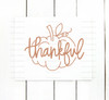 Hand Lettered Thankful Pumpkin Digital Cutting File