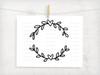 Heart Wreath Digital Cutting File