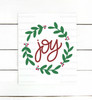 Joy Wreath Digital Cutting File