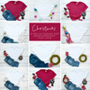Christmas Tee BUNDLE 10 Bella Canvas 3001 Unisex Mock Up/Flat Lays DIGITAL FILES
