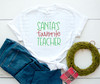Santa's Favorite Teacher Digital Cutting File