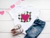Black Buffalo Check Pink Leopard Heart | Sublimation Transfer
