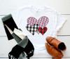 Trio Valentine Hearts | Sublimation Transfer