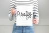 Pirates Team Name Digital Cutting File
