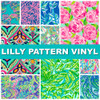 Lilly Pattern Vinyl At My Vinyl Direct