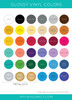Gloss Vinyl Collection (Oracal 651)