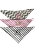 Bandana Bibs shown personalize with our heat transfer vinyls