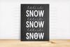 Let It Snow Digital File