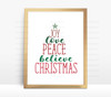 Christmas Word Tree Digital File