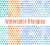 Watercolor Triangles Vinyl Pack