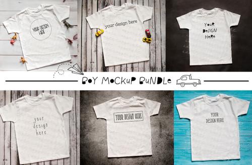 The Ultimate Boys T Shirt Bundle Mock Up/Flat Lays DIGITAL FILES