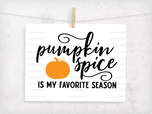 Pumpkin Spice Is My Favorite Season