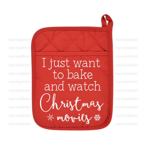 Bake & Christmas Movies Digital Cutting File