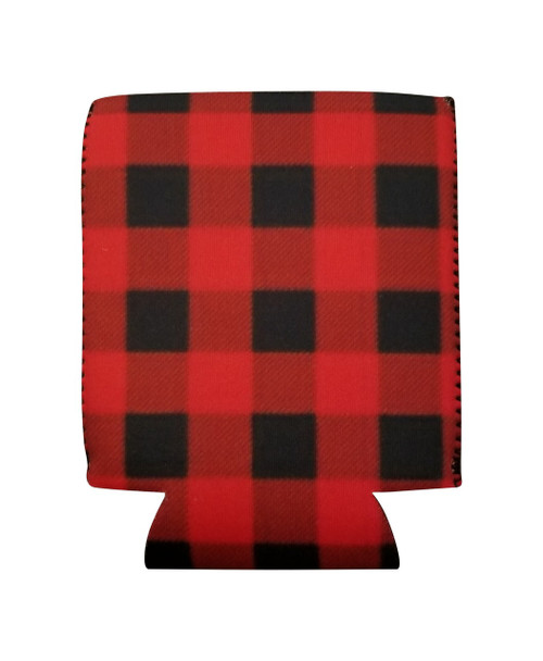 Red Buffalo Plaid check can cover