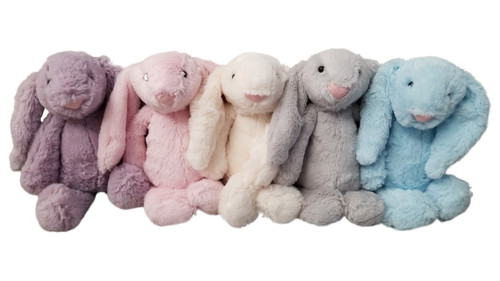 Easter Plush Bunny Colors