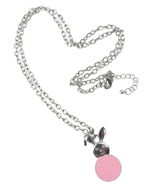Bunny Necklace Pink