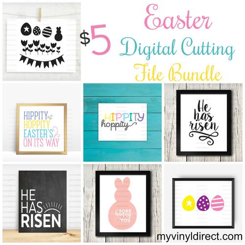 Easter Digital Cutting File Bundle