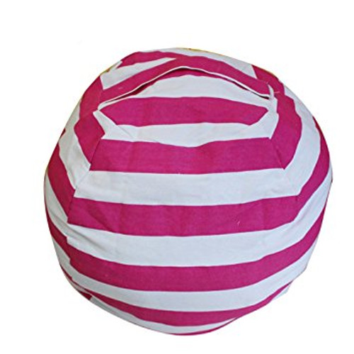Stuffed Animal Storage Bag: Pink