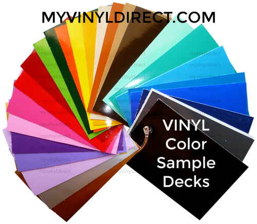 My Vinyl Direct VINYL Color Sample Decks