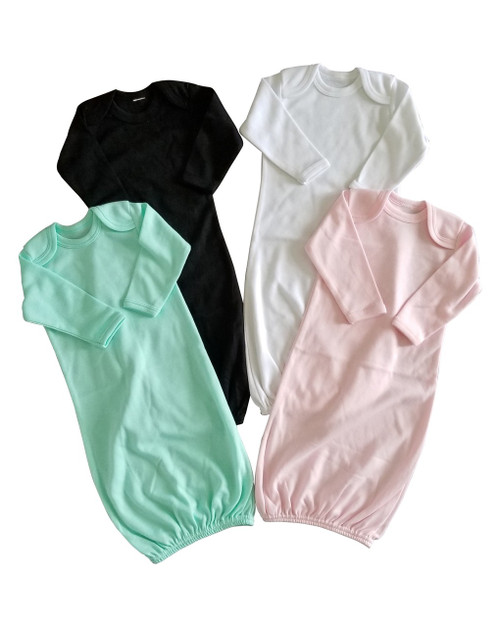 Infant Gowns 0-3 Months Blank