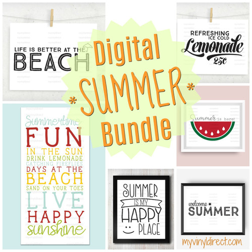 *SUMMER* Digital File Bundle