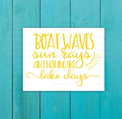Boat Waves Digital Cutting File