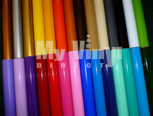 Pick 12 Pack: Gloss Vinyl Sheets (Oracal 651)