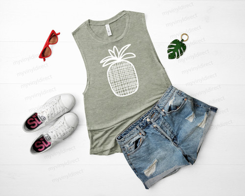 Pineapple HEAT PRESS TRANSFER