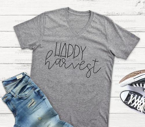 Happy Harvest HEAT PRESS TRANSFER