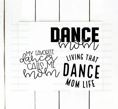 Dance Mom Pack Digital Cutting File