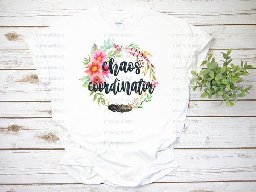Chaos Coordinator | Sublimation Transfer